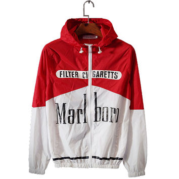 Fashion 2017 Windbreaker Men Thin Jacket Printed Letters Smoking Kills  Sportswear Sunscreen Lovers Clothing Coats Macho