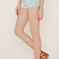 Cuffed Denim Shorts | Forever 21 - 2000185735
