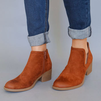 London Calling Cutout Booties