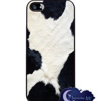 Cow Skin, Animal Print iPhone 5 Cover