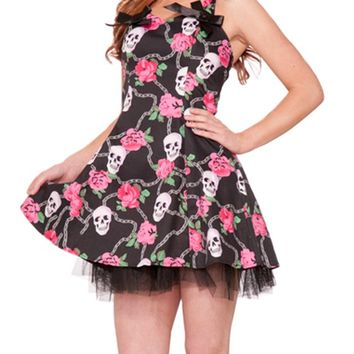 "Women's ""My Michelle"" Dress (Black/Pink)"