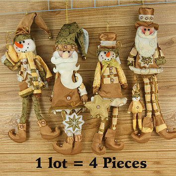 Christmas Hanging Ornaments Decoration Santa Claus Snowman