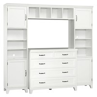 Hampton 5-Drawer Dresser Set