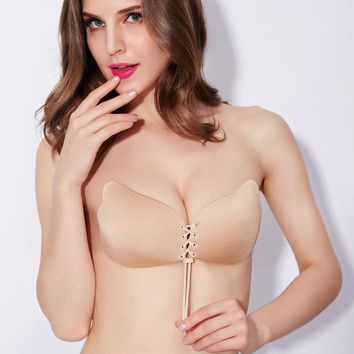 New Sexy Women Push Up LIFT Self-Adhesive Silicone Instant Breast Lift Support Bra AdhesiveTape Chest Paste