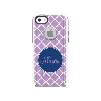 Monogrammed Otterbox Commuter iPhone 5c Cases