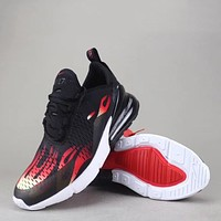 Trendsetter Nike Air Max 270 Flyknit Women Men Fashion Casual Sneakers Sport Shoes