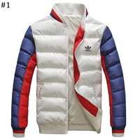 ADIDAS winter new lightweight down jacket cotton suit baseball collar warm cotton clothing #1