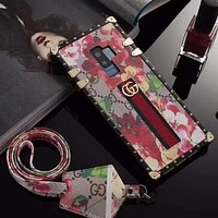 Perfect Gucci Fashion Samsung Phone Cover Case For Galaxy S9 S9puls