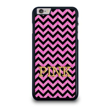 VICTORIA'S SECRET PINK CHEVRON iPhone 6 / 6S Plus Case Cover
