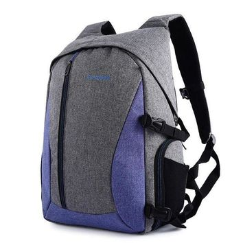 CREYLD1 Waterproof Digital DSLR Photo Padded Backpack Multi-functional Camera Bag for Outdoor Traveling 3 Colors