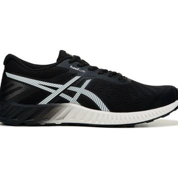 ASICS Fuzex Lyte Running Shoe Black/ White