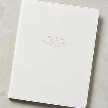Well Noted Notebook & Pen