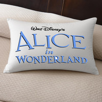 Disneys Alice in Wonderland pillow amazing for you