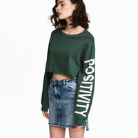 H&M Short Sweatshirt $12.99