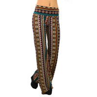 Ziggy Zazzle Burgandy Palazzo Pants