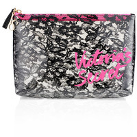 Large Lace Cosmetic Bag - Victoria's Secret - Victoria's Secret