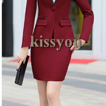 Hot Selling Women Business Suits Female Skirt Suits New Design For Ladies Formal Offic Suits Plus Size XS-4XL