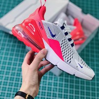 Nike Air Max 270 Ultramarine Ah6789-101 Women's Sport Running Shoes - Best Online Sale