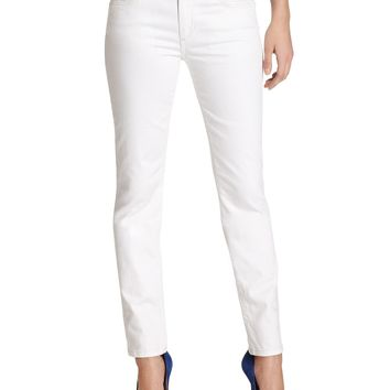 Joe's Jeans, Straight Ankle, Pennie White-Wash
