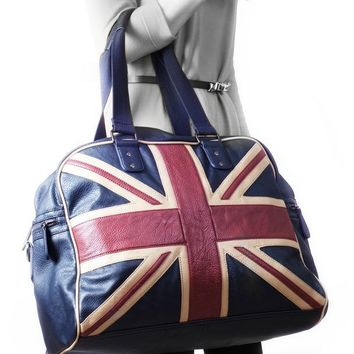London Retro Union Jack Bag | Vintage | Robin Ruth | Satchel Bag | London Souvenirs | London Gifts