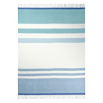 Designers Guild Chaumont Turquoise Throw