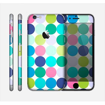The Vibrant Colored Polka Dot V2 Skin for the Apple iPhone 6