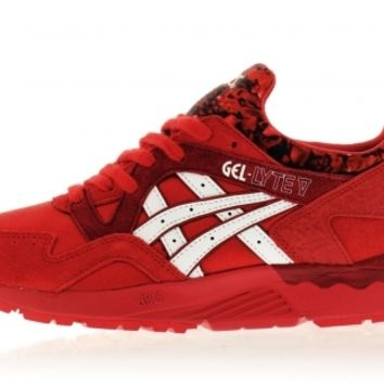 titolo asics gel lyte V H556L-2301Red/ White