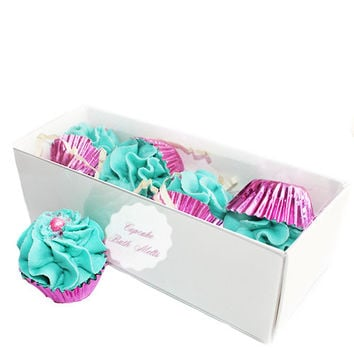 Petite Fruit Punch Cupcake Bath Melts Gift Box