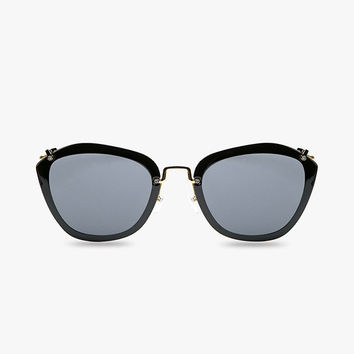 Classic Cat Eye Oversized Sunglasses