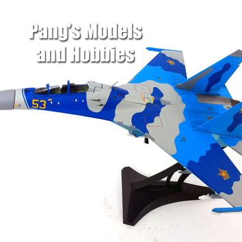 SU-27 (Su-27UB) Flanker-C Kazakhstan Air Force 1/72 Diecast Metal Model by JC Wings