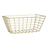 Large Metal Wire Basket - from H&M