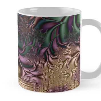 'Flora Fantasia Abstract Fractal' Kaffeebecher by gabiwArt