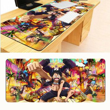 Mairuige  90*40cm one piece mouse pad gaming mouse pad large cartoon Anime rubber mouse pad Keyboard Mat Table Mat For Dota 2