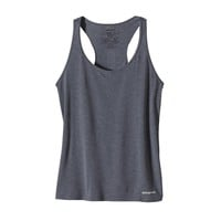 Patagonia Women's Nine Trails Tank Top | Navy Blue w/Tubular Blue