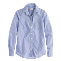 J.Crew Womens Boy Shirt In End-On-End Cotton