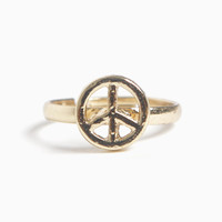 Adjustable Peace Ring (More Colors) – 80's Purple