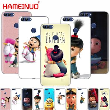 HAMEINUO My Unicorn Agnes Minions cell phone Cover Case for huawei Honor 7C  Y5 Y625 Y635 Y6 Y7 Y9 2017 2018 Prime PRO