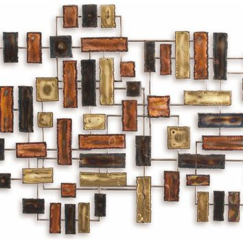 Impulse Contemporary Wall Sculpture by Metal Perspectives