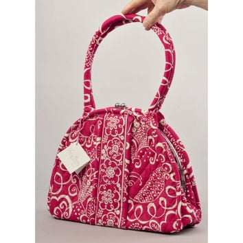 "Vera Bradley ""Eloise""  Twirly Birds Shoulder Bag/Satchel"