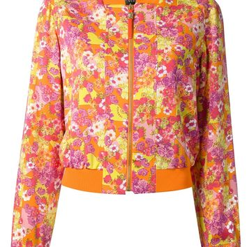 Versace Acid Flowers Bomber Jacket