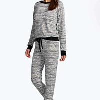 Kirsty Marl Jogger And Jumper Co-Ord Set