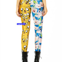 Adventure Time Tights Yoga Leggings cotton-Kawaii Sock-NOT Adventure Time Shirt  adventure time shoe sweater pin poster sword squishies K049