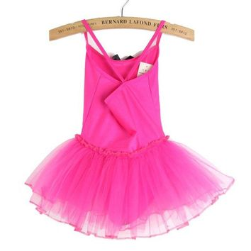 Ballet Tutu Dress in 6 Colors (2T - Size 4)