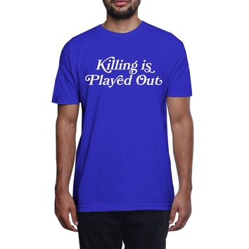 Played Out T Shirt Blue