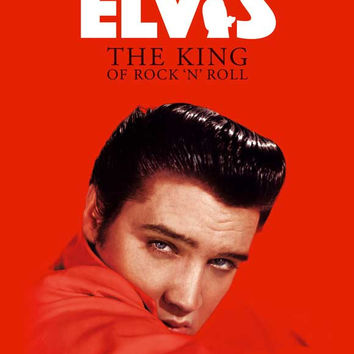 Elvis: The King of Rock 'n' Roll (UK) 27x40 Movie Poster (2007)