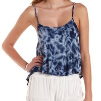Tie-Dye Swing Tank Top by Charlotte Russe