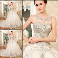 Please like us on our facebook page and win a free luxury crystal gown! https://www.facebook.com/YZFashionBridal