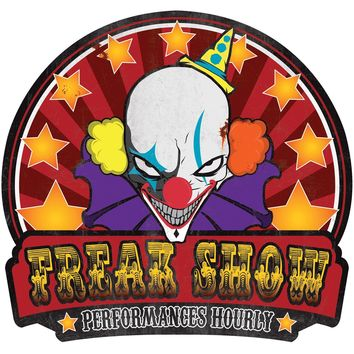 Metal Sign Freak Show