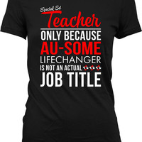 Autism Awareness T Shirt Autism Gifts For Women Autism Teacher Shirt Autistic T Shirt Autism Spectrum Advocate Ladies Tshirt MD-407