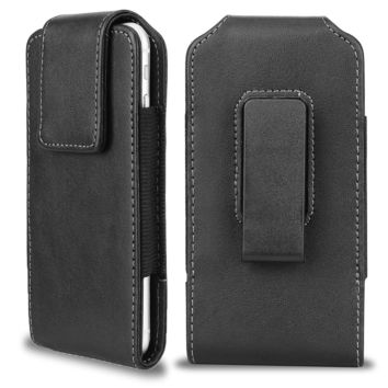 iPhone 6 Plus Vertical Leather Belt Case Samcore Clip Holster Pouch Carrying ...